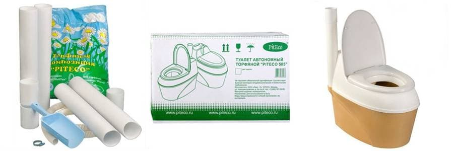 Туалет Piteco 506 комплектация